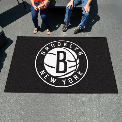 NBA Brooklyn Nets UTILI-MAT Area Rug - Bed, Bath, And My Team