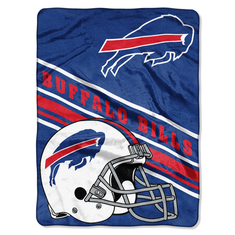 Buffalo Bills large plush blanket