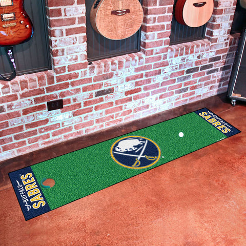 Buffalo Sabres Golf Putting Green Mat