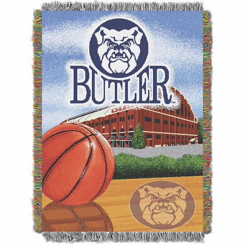 NCAA Butler Bulldogs HOME FIELD ADVANTAGE Tapestry - Bed, Bath, And My Team