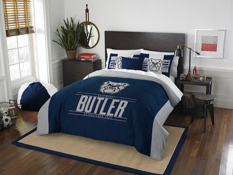 NCAA Butler Bulldogs Queen/Full Comforter and Sham Set - Bed, Bath, And My Team