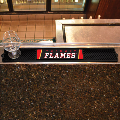 Calgary Flames Bar Drink Mat