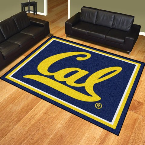 NCAA California Golden Bears 8 X 10 Ft. Area Rug - Bed, Bath, And My Team