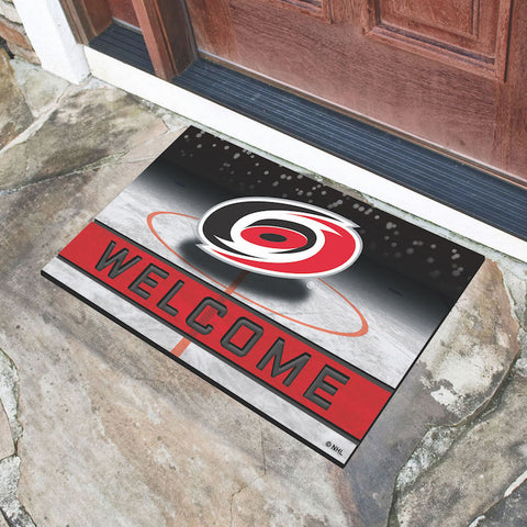 Carolina Hurricanes Crumb Doormat