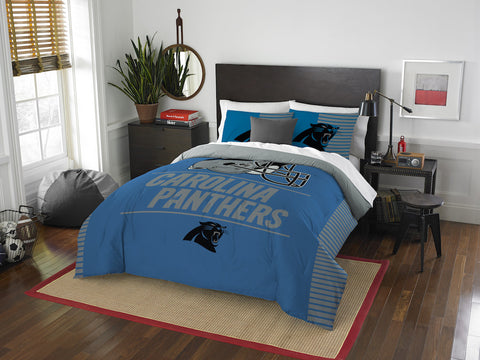 Carolina Panthers queen/full comforter and 2 shams