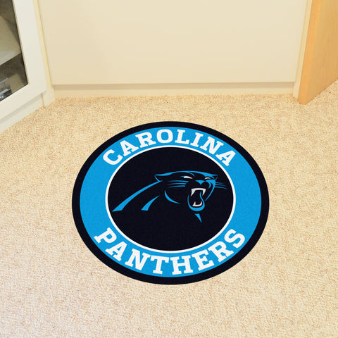Carolina Panthers Roundel Mat