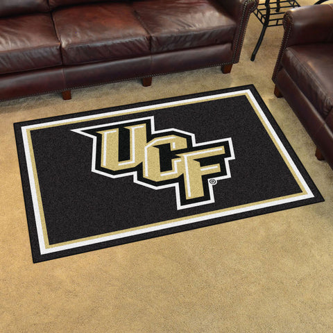 NCAA Central Florida Knights 4 X 6 Ft. Area Rug - Bed, Bath, And My Team