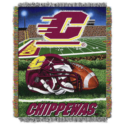 NCAA Central Michigan Chippewas HOME FIELD ADVANTAGE Tapestry - Bed, Bath, And My Team
