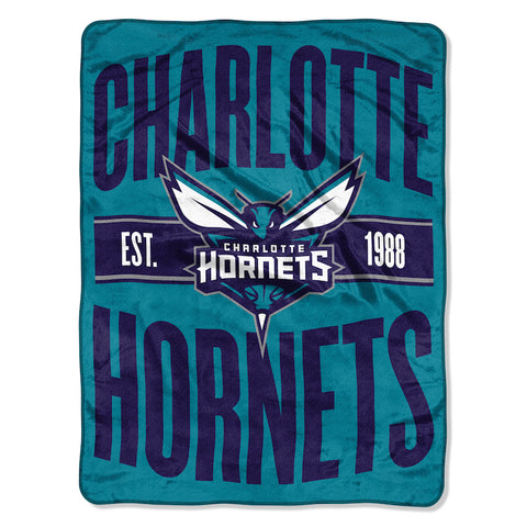 NBA Charlotte Hornets Micro Raschel Throw - Bed, Bath, And My Team