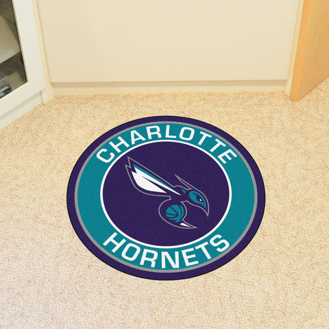 NBA Charlotte Hornets Roundel Mat - Bed, Bath, And My Team
