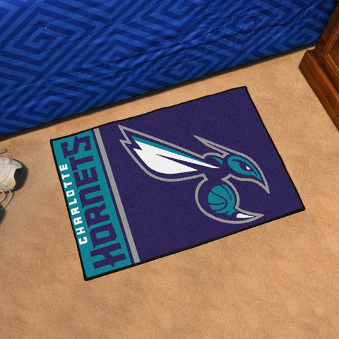 NBA Charlotte Hornets Uniform Inspired STARTER Rug - Bed, Bath, And My Team