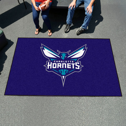 NBA Charlotte Hornets UTILI-MAT Area Rug - Bed, Bath, And My Team