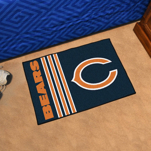 Chicago Bears Uniform Inspired Starter Mat