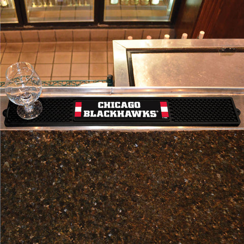 Chicago Blackhawks Bar Drink Mat