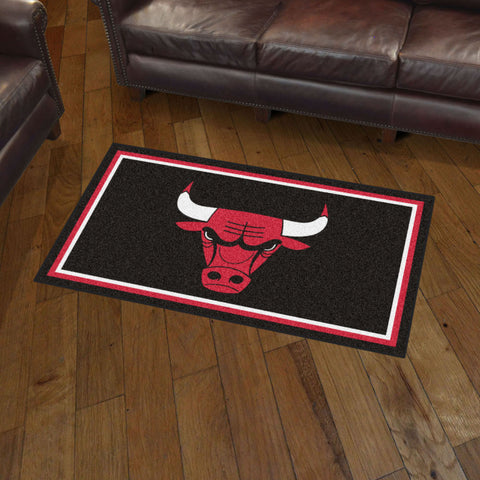 NBA Chicago Bulls 3 X 5 Ft. Plush Area Rug - Bed, Bath, And My Team