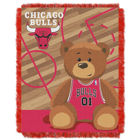 NBA Chicago Bulls Baby Blanket - Bed, Bath, And My Team