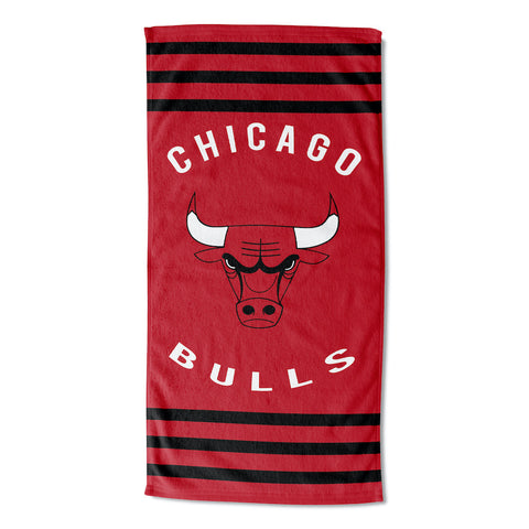 NBA Chicago Bulls Beach Towel - Bed, Bath, And My Team