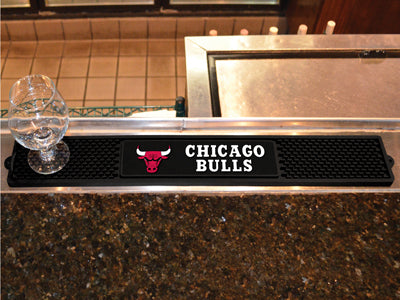 NBA Chicago Bulls Bar and Drink Mat - Bed, Bath, And My Team