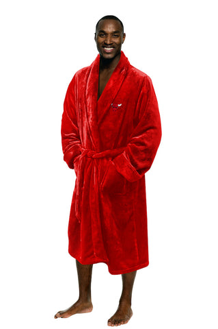 NBA Chicago Bulls Silk Touch Mens Bath Robe - Bed, Bath, And My Team