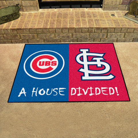 Chicago CubsSt. Louis Cardinals Rivalry Rug