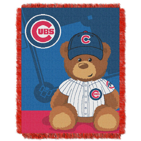 MLB Chicago Cubs Baby Blanket - Bed, Bath, And My Team