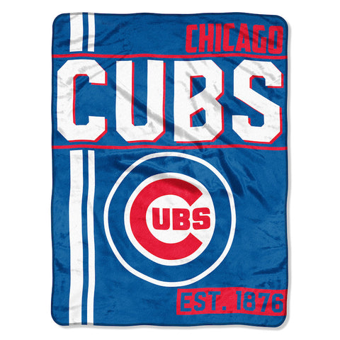 MLB Chicago Cubs Micro Raschel Throw - Bed, Bath, And My Team