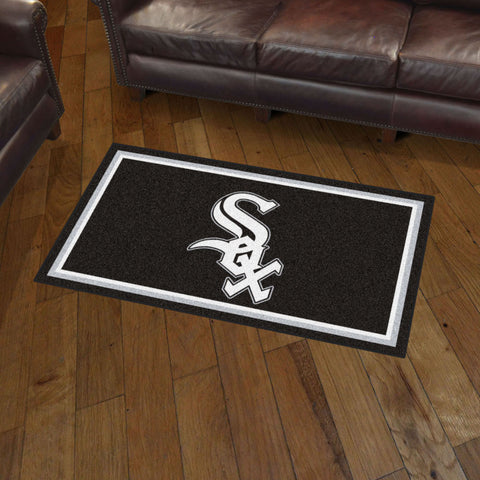 MLB Chicago White Sox 3 X 5 Ft. Plush Area Rug - Bed, Bath, And My Team