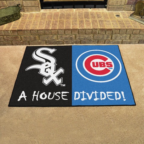 Chicago White SoxChicago Cubs Rivalry Rug