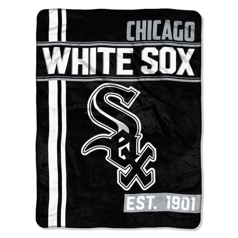 MLB Chicago White Sox Micro Raschel Throw - Bed, Bath, And My Team