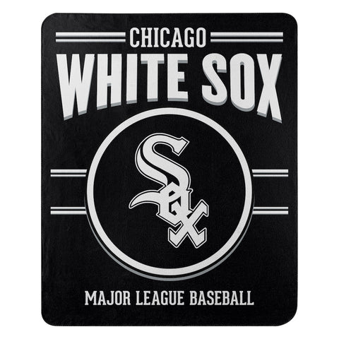 MLB Chicago White Sox Fleece Throw ~ 50 x 60 - Bed, Bath, And My Team