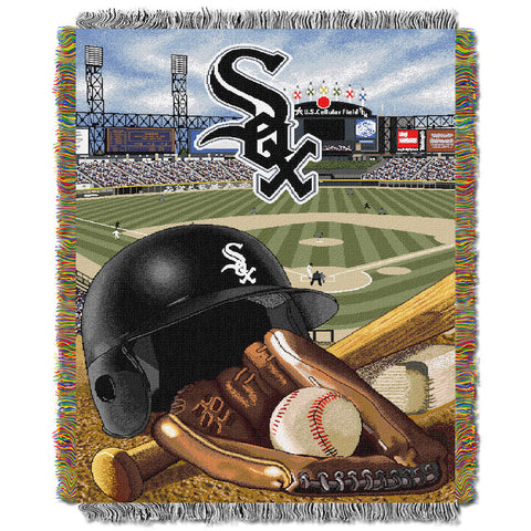 MLB Chicago White Sox HOME FIELD ADVANTAGE Tapestry - Bed, Bath, And My Team