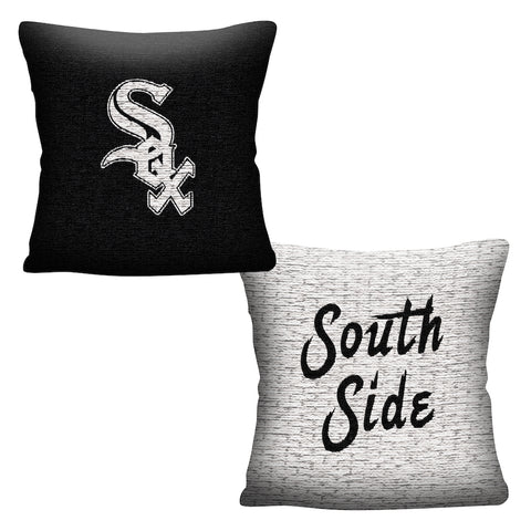 MLB Chicago White Sox INVERT Throw Pillow - Bed, Bath, And My Team