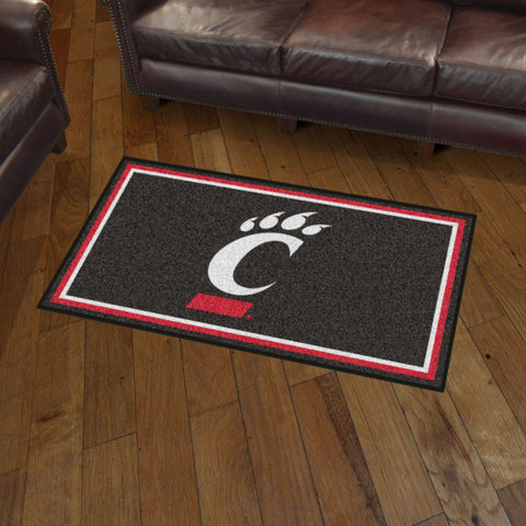 NCAA Cincinnati Bearcats 3 X 5 Ft. Plush Area Rug - Bed, Bath, And My Team