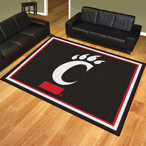 NCAA Cincinnati Bearcats 8 X 10 Ft. Area Rug - Bed, Bath, And My Team