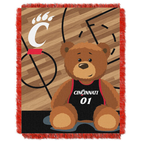 NCAA Cincinnati Bearcats Baby Blanket - Bed, Bath, And My Team