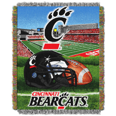 NCAA Cincinnati Bearcats HOME FIELD ADVANTAGE Tapestry - Bed, Bath, And My Team