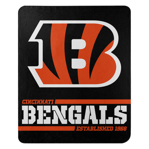 Cincinnati Bengals Fleece Throw