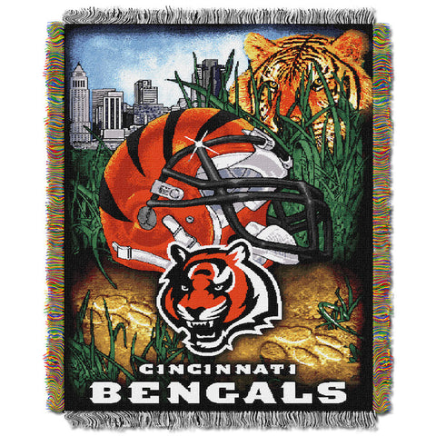 Cincinnati Bengals Home Field Advantage Tapestry