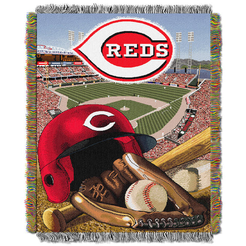 Cincinnati Reds Home Field Advantage Tapestry