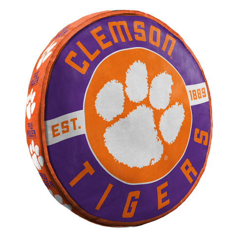 NCAA Clemson Tigers Cloud Travel Pillow - Bed, Bath, And My Team