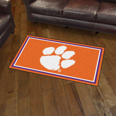 NCAA Clemson Tigers 3 X 5 Ft. Plush Area Rug - Bed, Bath, And My Team