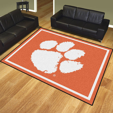 NCAA Clemson Tigers 8 X 10 Ft. Area Rug - Bed, Bath, And My Team