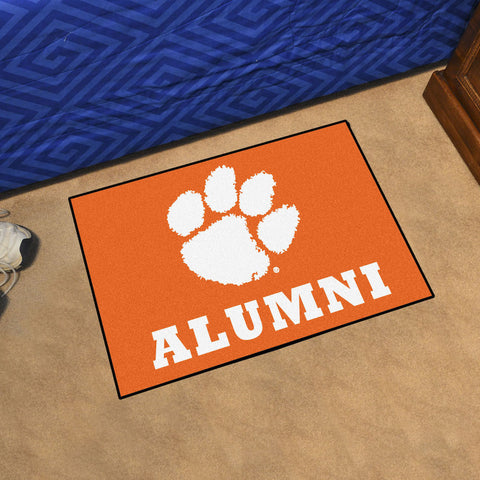 NCAA Clemson Tigers ALUMNI Starter Rug - Bed, Bath, And My Team