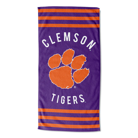 NCAA Clemson Tigers Beach Towel - Bed, Bath, And My Team
