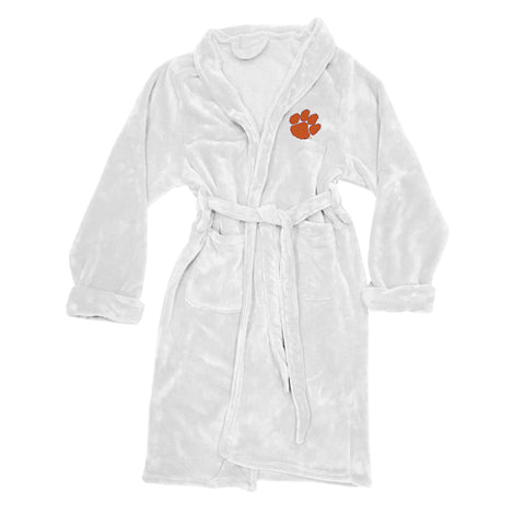 NCAA Clemson Tigers Silk Touch Mens Bath Robe - Bed, Bath, And My Team
