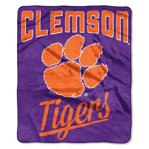 NCAA Clemson Tigers 50 x 60 Alumni Raschel Throw Blanket - Bed, Bath, And My Team
