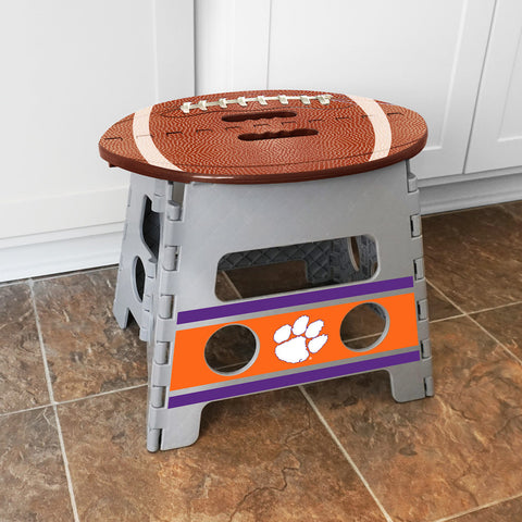 NCAA Clemson Tigers Folding Step Stool - Bed, Bath, And My Team