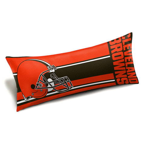 NFL Cleveland Browns King Size Body Pillow - Bed, Bath, And My Team