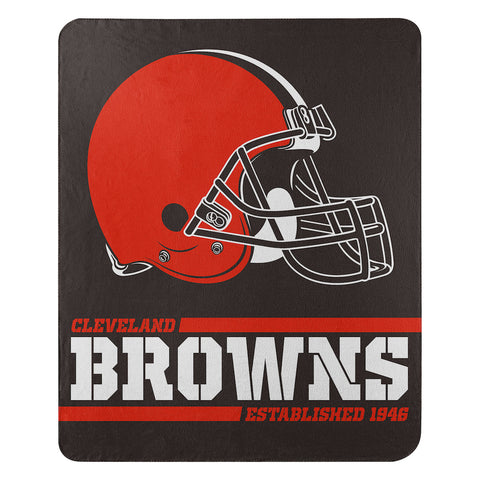 NFL Cleveland Browns Fleece Throw ~ 50 x 60 - Bed, Bath, And My Team