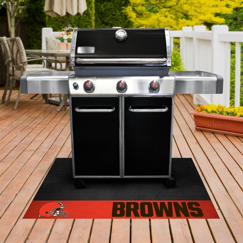 NFL Cleveland Browns Grill Mat - Bed, Bath, And My Team